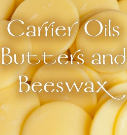 Carrier Oils, Butters, & Beeswax