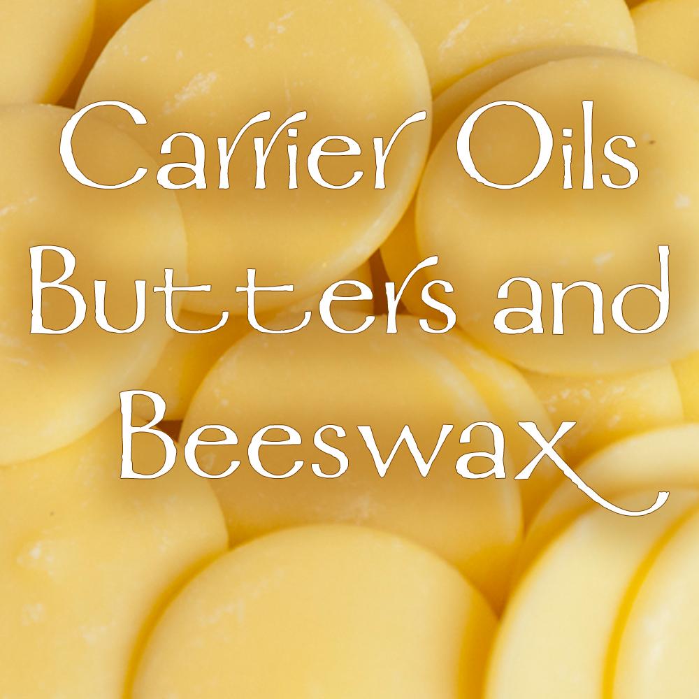 Carrier Oils, Butters, & Beeswax