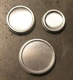 Metal Tins .5 oz 1 oz 2 oz